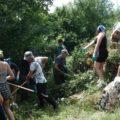 11 juillet 2021, journée nettoyage et entretien du sentier de Sorèze.